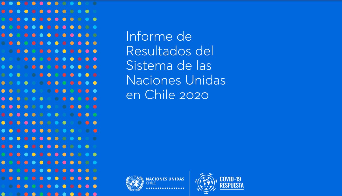 Portada Informe de Resultados del SNU Chile
