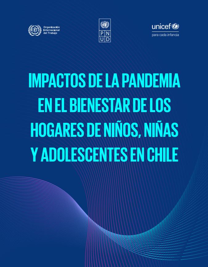 Portada del documento Impactos de la pandemia en el bienestar de los hogares de niños, niñas y adolescentes en Chile