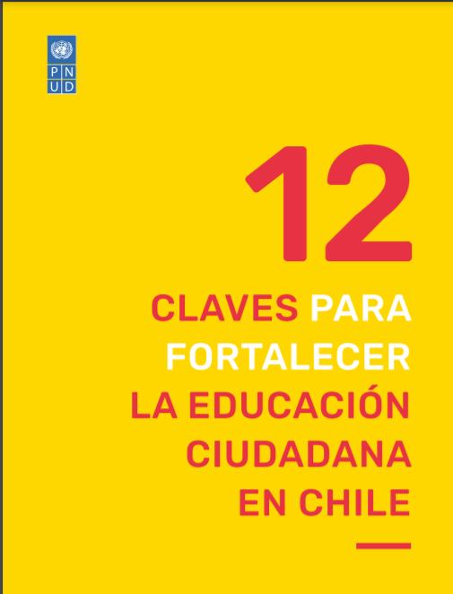 Portada Informe 12 claves para fortalecer la educación ciudadana en Chile